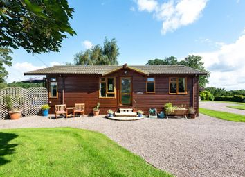 Thumbnail 2 bed lodge for sale in Broxwood, Leominster