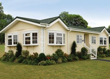 Thumbnail 2 bed mobile/park home for sale in Lea Villa Residential Park, Lea, Ross-On-Wye
