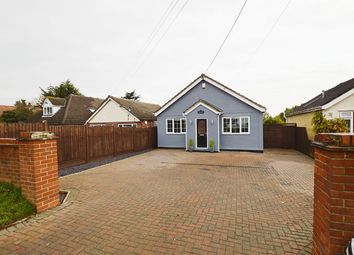 Thumbnail 3 bed detached bungalow for sale in Halstead Road, Eight Ash Green, Colchester