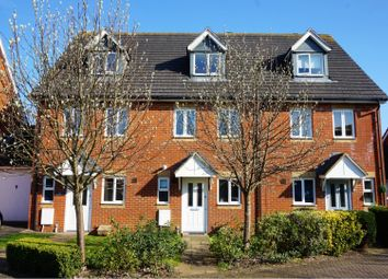Thumbnail 3 bed terraced house for sale in Furfield Chase, Maidstone