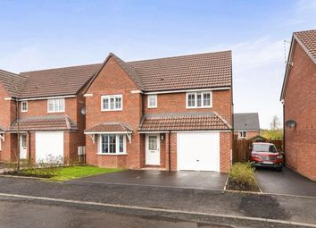 Thumbnail 4 bedroom detached house for sale in Laxton Crescent, Evesham, Worcestershire, .