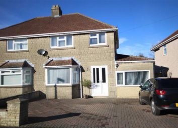 Thumbnail 3 bed semi-detached house for sale in Woodside Avenue, Old Walcot, Swindon