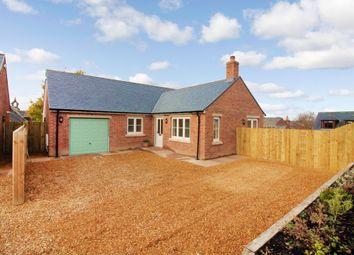 Thumbnail 2 bedroom detached bungalow for sale in School Road, Cumwhinton, Carlisle