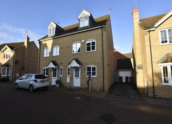 Thumbnail 4 bed property to rent in Wick Road, Hampton Hargate, Peterborough