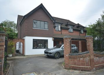 Thumbnail 4 bed detached house for sale in Ernest Road, Emerson Park, Hornchurch