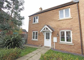 Thumbnail 3 bed semi-detached house for sale in Merlin Close, Bourne