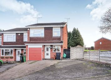 Thumbnail 3 bed town house for sale in Chichester Avenue, Dudley