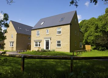 """Thumbnail 5 bedroom detached house for sale in """"Moorecroft"""" at Church Drive, Hoylandswaine, Sheffield"""