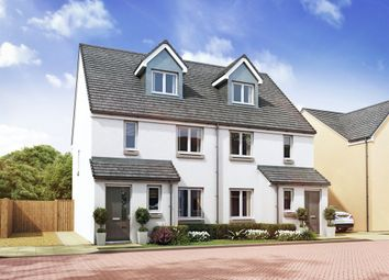"""Thumbnail 4 bedroom town house for sale in """"The Bothwell """" at Salters Road, Strawberry Corner, Wallyford"""