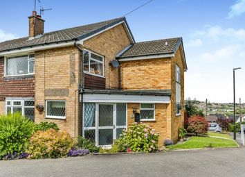 Thumbnail 4 bedroom semi-detached house for sale in Hollins Spring Avenue, Dronfield, Derbyshire