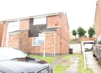 Thumbnail 2 bed semi-detached house to rent in Okehampton Avenue, Evington, Leicester