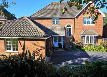 Thumbnail 4 bed detached house for sale in Candish Drive, Plymouth