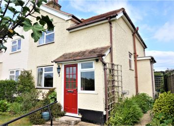 Thumbnail 3 bed semi-detached house for sale in Downs Road, West Stoke