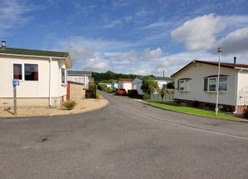 Thumbnail 2 bed mobile/park home for sale in Woodcock Park, Warminster