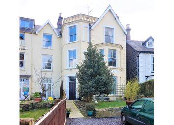 Thumbnail 3 bed flat for sale in Park Crescent, Llanfairfechan