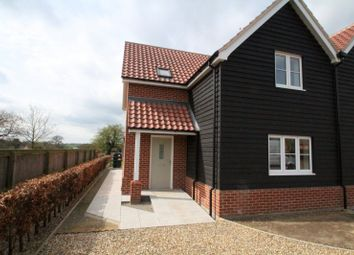 Thumbnail 3 bedroom semi-detached house to rent in Chapel Lane, Great Glemham, Saxmundham