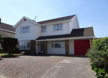 Thumbnail 4 bed detached house for sale in Heol Fach, North Cornelly