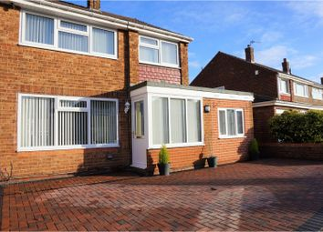 Thumbnail 3 bed semi-detached house for sale in Castleton Road, Hartlepool