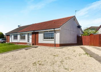 Thumbnail 3 bed semi-detached bungalow for sale in Invergarry Grove, Thornliebank, Glasgow