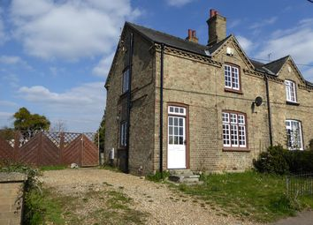 Thumbnail 2 bed semi-detached house to rent in West Way, Wimbotsham, King's Lynn