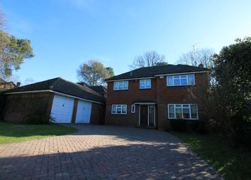 Thumbnail 4 bed detached house for sale in Frimley Green, Camberley, Surrey