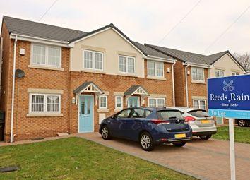Thumbnail 4 bed semi-detached house to rent in Almond Way, Little Sutton, Ellesmere Port