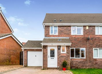 Thumbnail 4 bed semi-detached house for sale in Cae Cadno, Church Village, Pontypridd