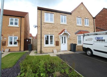 Thumbnail 2 bed semi-detached house for sale in Hatfield Grove, Laughton Common, Dinnington, Sheffield