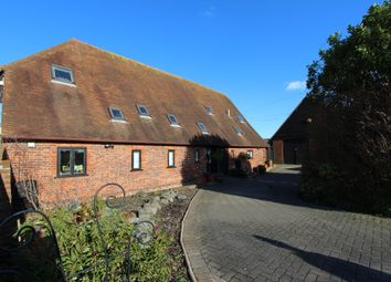 Thumbnail 4 bed barn conversion for sale in Sandwich Road, Hacklinge