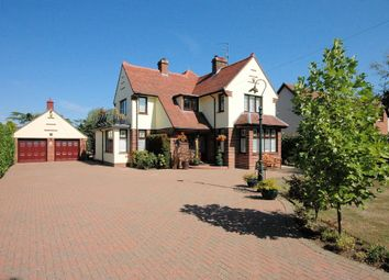Thumbnail 4 bed detached house for sale in Grimston Road, South Wootton, King's Lynn