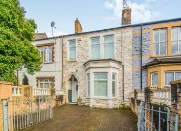 Thumbnail 4 bed terraced house for sale in Stacey Road, Roath, Cardiff