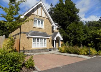 Thumbnail 4 bed detached house for sale in Meadows Drive, Camberley, Surrey