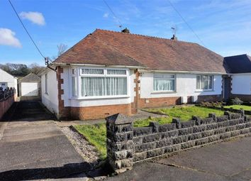 Thumbnail 3 bedroom semi-detached bungalow for sale in Orchard Grove, Swansea