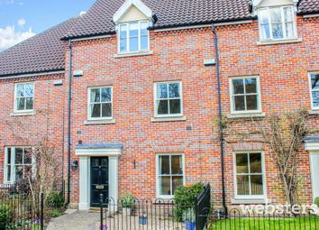 Thumbnail 4 bedroom town house for sale in The Willows, Norwich