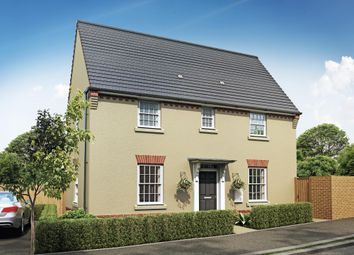 "Thumbnail 3 bedroom detached house for sale in ""Hatton"" at Pinn Lane, Pinhoe, Exeter"