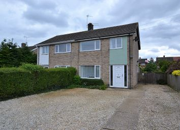 Thumbnail 3 bedroom semi-detached house for sale in Cartledge Close, Dereham, Norfolk.