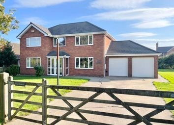 Thumbnail 4 bed detached house for sale in Station Road, Tetney, Grimsby