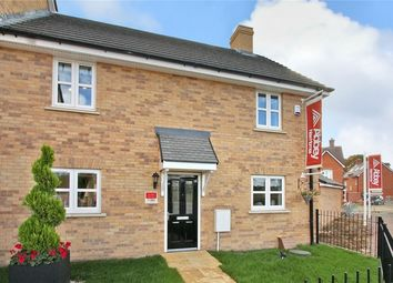 Thumbnail 3 bed end terrace house for sale in Foster Walk, Shortstown, Bedford