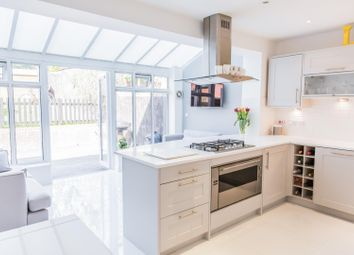 Thumbnail 4 bed terraced house for sale in Greensleeves Drive, Warley, Brentwood