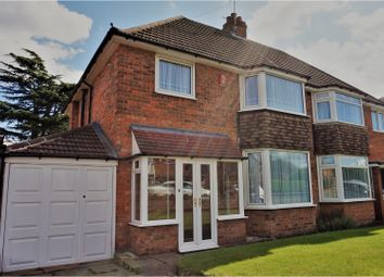 Thumbnail 3 bed semi-detached house for sale in Ringmere Ave, Birmingham