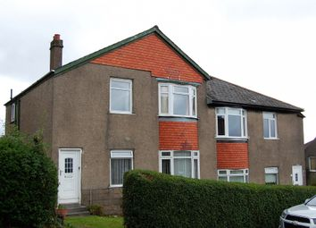 Thumbnail 3 bed flat for sale in Renshaw Drive, Hillington
