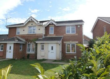 Thumbnail 3 bedroom semi-detached house to rent in Millmoor Road, Wombwell, Barnsley