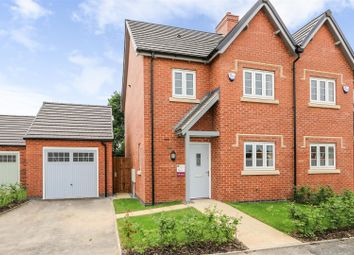 Thumbnail 3 bed semi-detached house for sale in Measham Road, Moira, Swadlincote