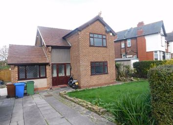 Thumbnail 3 bed detached house for sale in Mile End Lane, Mile End, Stockport