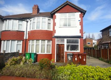 Thumbnail 5 bedroom property to rent in Abberton Road, West Didsbury, Manchester
