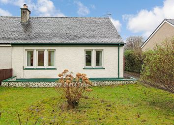 Thumbnail 1 bed semi-detached bungalow for sale in Meadow Road, Dunbeg