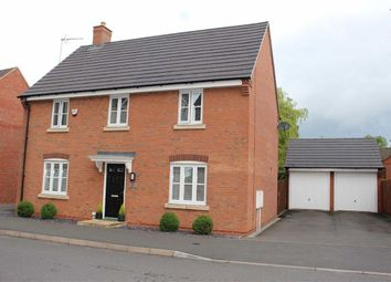 Thumbnail 4 bedroom detached house for sale in Masefield Drive, Earl Shilton, Leicester