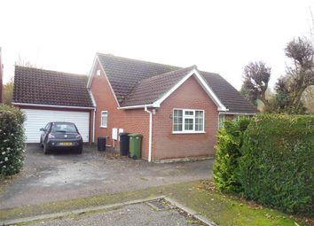 Thumbnail 2 bed detached bungalow to rent in Clements Close, Scole, Diss