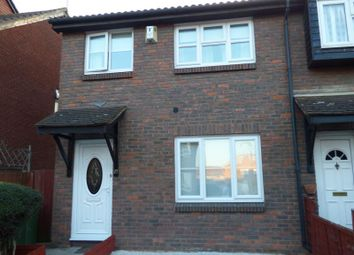 Thumbnail 3 bed end terrace house for sale in Harper Road, Beckton, London