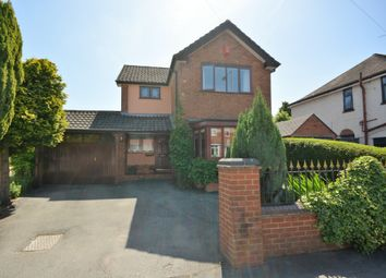 Thumbnail 3 bed detached house for sale in Thistleberry Avenue, Newcastle, Staffordshire